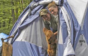 camping with your dog, cleveland